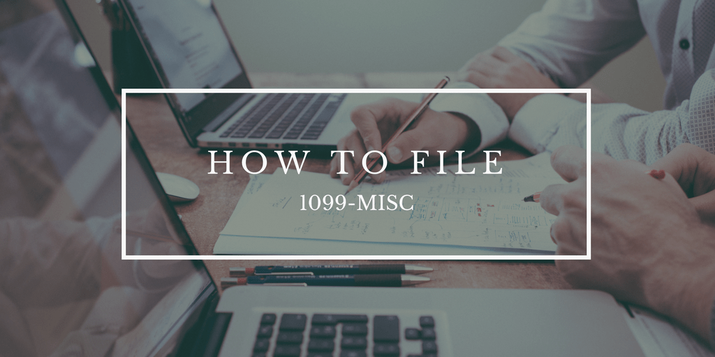 How Do You File 1099 Misc Wp1099